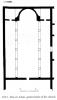 Deir el Azhar (Abu Ghosh)- plan of the church (Malka 2012 II: 20, no. 169)
